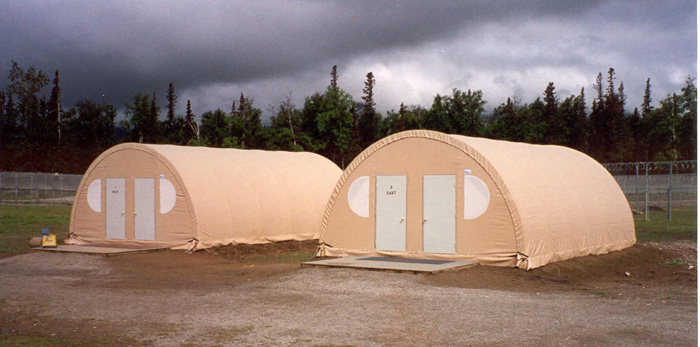 SQX-series Quonset Hut Fabric Shelter single arch