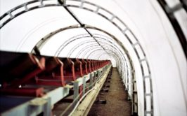 Fabric Conveyor and Pipeline Enclosure Interior
