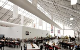 Fabric Buildings Dining Facility - Interior