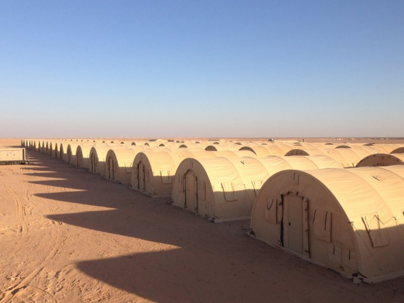 Military Shelter Camp Systems