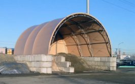 Fabric Structures for Sand and Salt Storage Buildings